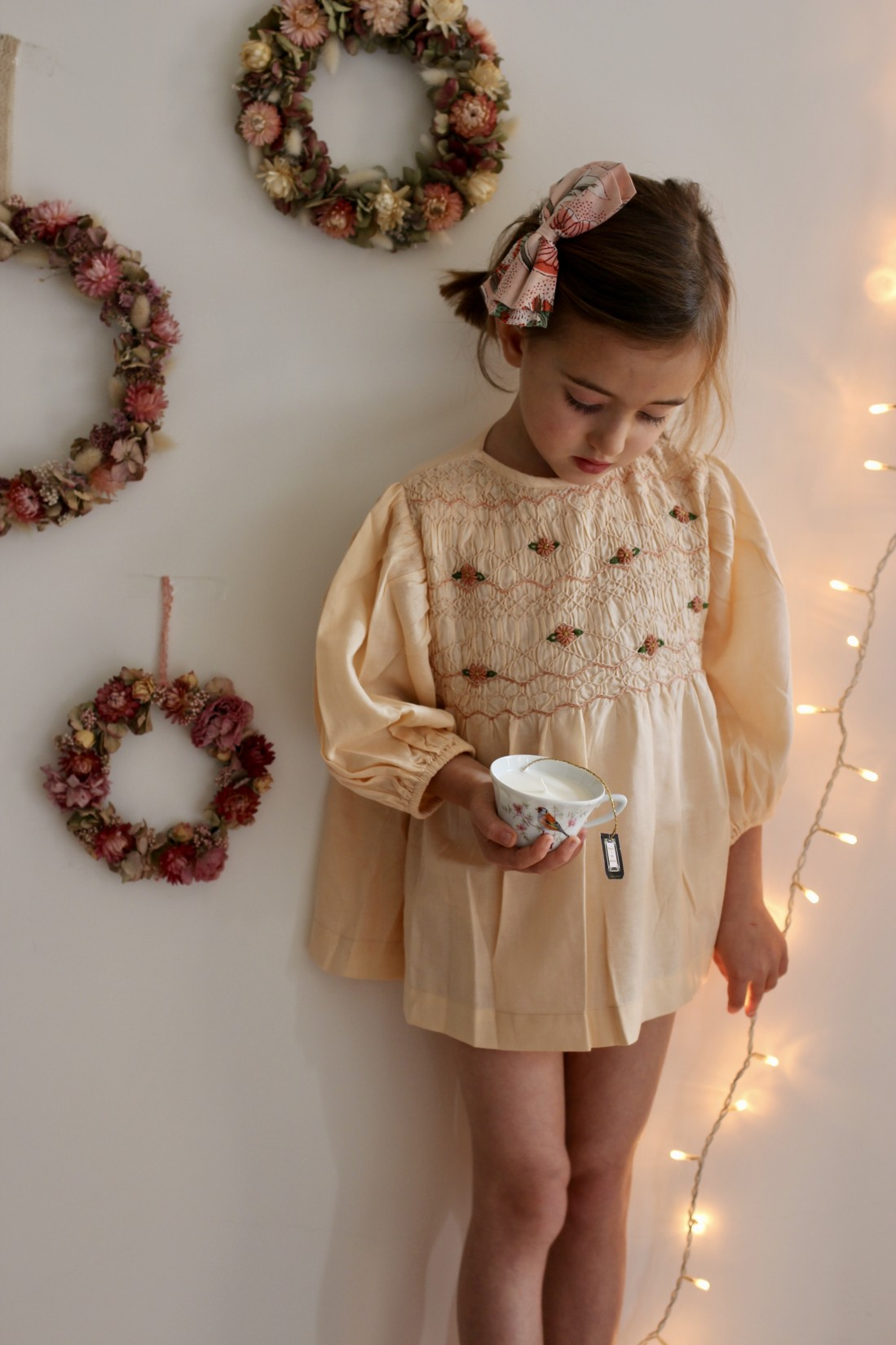 Bonjour robe smock credit photo